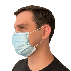 3-PLY LIGHTWEIGHT DISPOSABLE MASK 50/PK Thumbnail