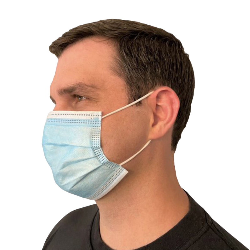 3-PLY LIGHTWEIGHT DISPOSABLE MASK 50/PK